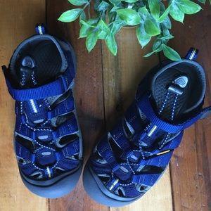 KEEN Kid's Seacamp Sandals - Navy